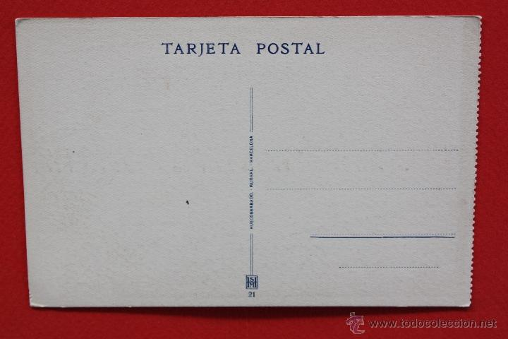 Postales: ANTIGUA POSTAL DE COVADONGA. ASTURIAS. EL MARAVILLOSO PAISAJE. HUECOGRABADO MUMBRÚ. SIN CIRCULAR - Foto 2 - 45164031