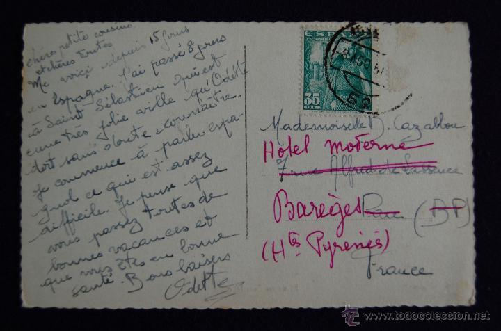Postales: POSTAL DE GIJON (ASTURIAS). Nº106 PLAZA DE SAN MIGUEL. EDIC ARRIBAS. AÑOS 50. - Foto 2 - 45229428