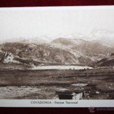 Postales: ANTIGUA POSTAL DE COVADONGA. ASTURIAS. PARQUE NACIONAL. SIN CIRCULAR. Lote 45305003