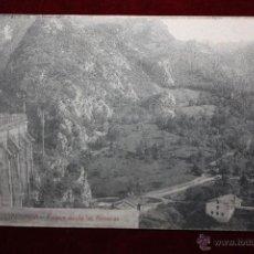Postales: ANTIGUA POSTAL DE COVADONGA. ASTURIAS. PAISAJE DESDE LAS ALMENAS. COLEC. V. ERO. ESCRITA. Lote 45305429