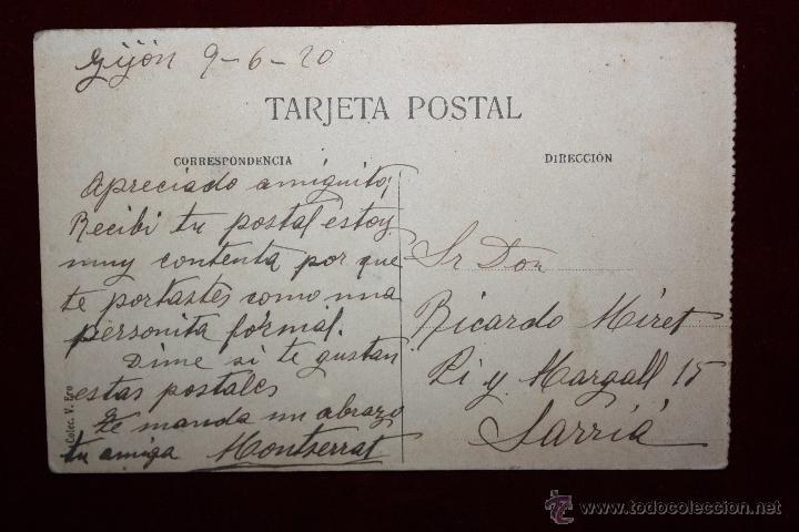 Postales: ANTIGUA POSTAL DE COVADONGA. ASTURIAS. PAISAJE DESDE LAS ALMENAS. COLEC. V. ERO. ESCRITA - Foto 2 - 45305429