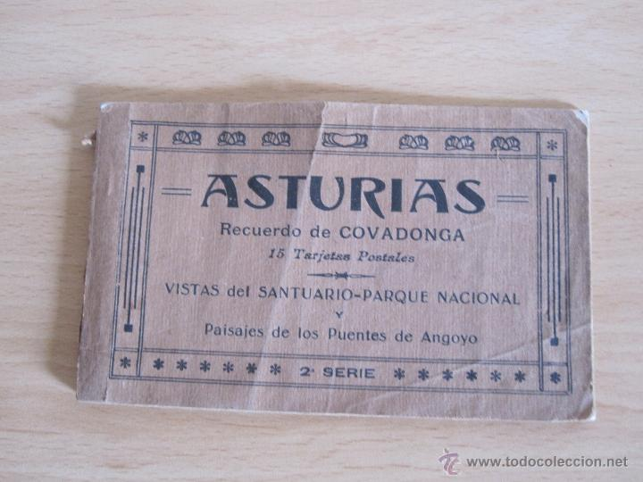 COLECCIONA BLE INCOMPLETO DE ASTURIAS (Postales - España - Asturias Antigua (hasta 1.939))