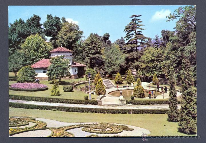 P1042.- OVIEDO.- PARQUE DE SAN FRANCISCO. ESTANQUE (Postales - España - Asturias Moderna (desde 1.940))
