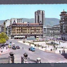 Postales: OVIEDO.- PL. DEL GENERALISIMO Y CALLE DE URIA. Lote 45484062
