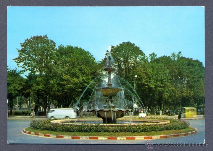 AVILES.- FUENTE LUMINOSA (Postales - España - Asturias Moderna (desde 1.940))