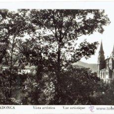 Postales: PS5170 COVADONGA 'VISTA ARTÍSTICA'. L. ROISIN. CIRCULADA EN 1957. Lote 46070841