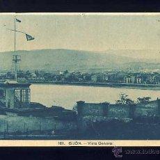 Postales: POSTAL DE GIJON: VISTA GENERAL (ROISIN 101). Lote 46156529