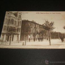 Postales: GIJON ASTURIAS PASEO DE SAN LORENZO POSTAL VINCK. Lote 46176699