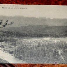 Postales: POSTAL DE ARRIONDAS (ASTURIAS), LIBRERIA ESCOLAR, HAUSER Y MENET, SIN CIRCULAR. Lote 46948145