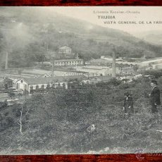 Postales: POSTAL DE TRUBIA, ASTURIAS, VISTA GENERAL DE LA FABRICA DE ARMAS, LIBRERIA ESCOLAR, HAUSER Y MENET, . Lote 46948337