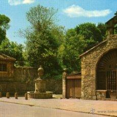 Cartes Postales: AVILES - CAPILLA Y FUENTE DE RIVERO - NO ESCRITA NI CIRCULADA. Lote 47113143