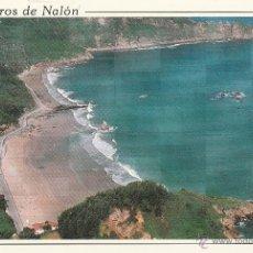 Postales: Nº 22186 POSTAL MUROS DE NALON PLAYA DE AGUILAR PRINCIPADO DE ASTURIAS. Lote 47245146
