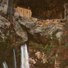 Postales: COVADONGA - GRUTA DE LA VIRGEN Y CASCADA - NO ESCRITA NI CIRCULADA. Lote 47505163