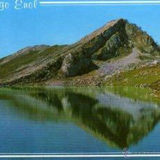 Postales: COVADONGA (ASTURIAS) - LAGO ENOL - NO ESCRITA NI CIRCULADA. Lote 47657589