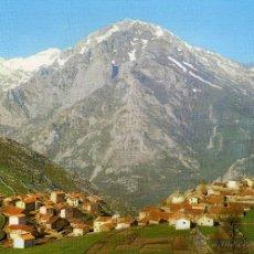 Postales: PICOS DE EUROPA - VEGA DE SOTRES, AL FONDO MACIZO CENTRAL - NO ESCRITA NI CIRCULADA. Lote 47657900
