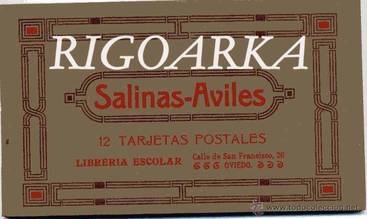 SALINAS-AVILÉS (ASTURIAS).- 12 POSTALES-COMPLETO (Postales - España - Asturias Antigua (hasta 1.939))