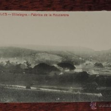 Postales: AVILES (ASTURIAS), FABRICA DE LA AZUCARERA, N. 18, ED. HIJO DE LEONCIA MUÑIZ, SIN CIRCULAR. Lote 262603935