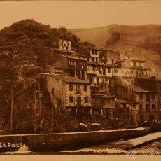 Postales: CUDILLERO - LA RIVERA - ASTURIAS - FOTOGRAFICA SIN CIRCULAR Y DORSO DIVIDIDO. Lote 47902780