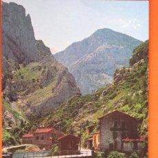 Postales: POSTAL - ASTURIAS - DESFILADERO DEL CARES CAMARMEÑA - ED. ALCE - NO CIRCULADA. Lote 48039395