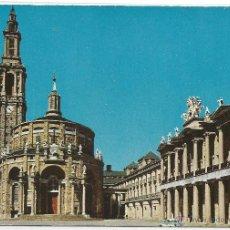 Postales: GIJON Nº 1 .- UNIVERSIDAD LABORAL .- PATIO CENTRAL .- ESCUDO DE ORO / DOMINGUEZ. Lote 48147870