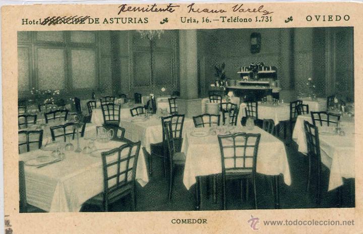 oviedo (asturias).- hotel principe de asturias- - Comprar Postales ...