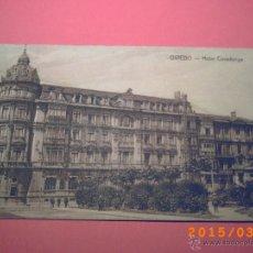 Postales: OVIEDO - HOTEL COVADONGA - FOTPIA: CASTAÑEIRA, ALVAREZ Y LEVENFELD -. Lote 48410398