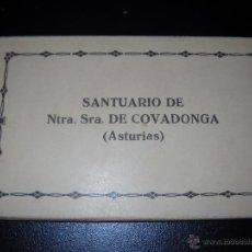 Postales: ANTIGUAS POSTALES DE ASTURIAS,SANTUARIO DE COVADONGA.. Lote 48596781