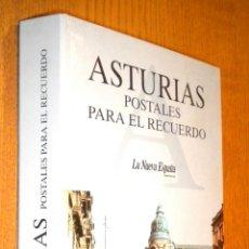 Postales: ASTURIAS POSTALES PARA EL RECUERDO ÁLBUM DE 152 POSTALES ( COMPLETO ). Lote 102607932