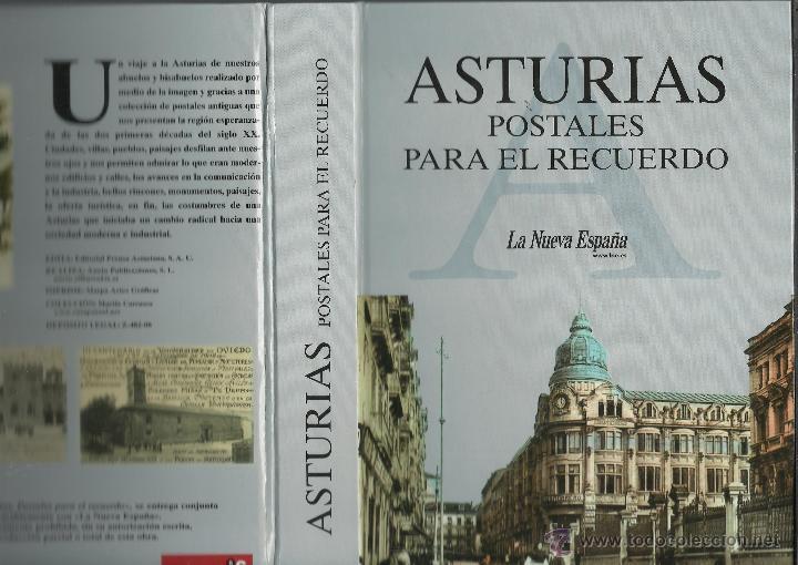 COLECCION DE 137 POSTALES DE ASTURIAS PUBLICADA POR LA NUEVA ESPAÑA VER FOTOS (Postales - España - Asturias Moderna (desde 1.940))