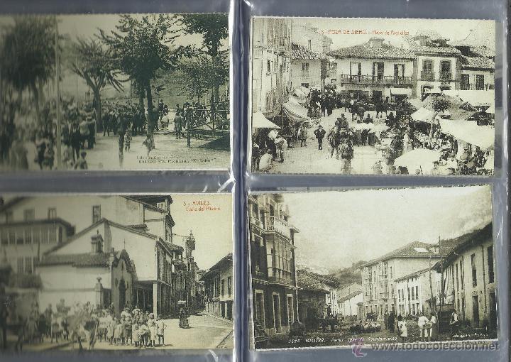 Postales: COLECCION DE 137 POSTALES DE ASTURIAS PUBLICADA POR LA NUEVA ESPAÑA VER FOTOS - Foto 7 - 48728976