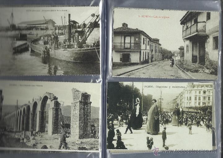 Postales: COLECCION DE 137 POSTALES DE ASTURIAS PUBLICADA POR LA NUEVA ESPAÑA VER FOTOS - Foto 9 - 48728976