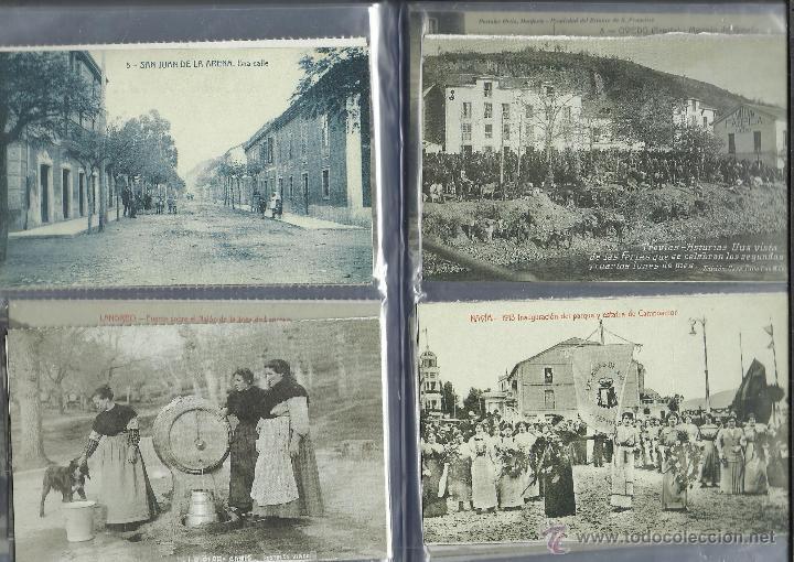Postales: COLECCION DE 137 POSTALES DE ASTURIAS PUBLICADA POR LA NUEVA ESPAÑA VER FOTOS - Foto 15 - 48728976