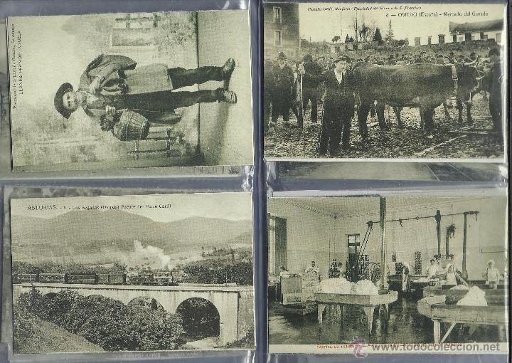 Postales: COLECCION DE 137 POSTALES DE ASTURIAS PUBLICADA POR LA NUEVA ESPAÑA VER FOTOS - Foto 17 - 48728976