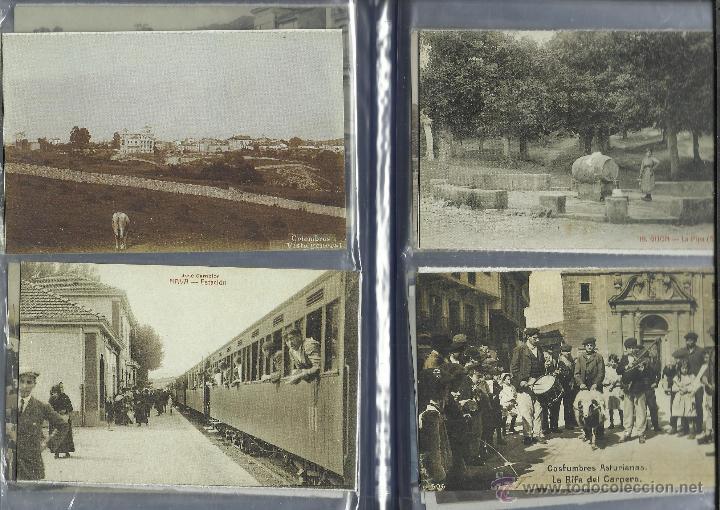 Postales: COLECCION DE 137 POSTALES DE ASTURIAS PUBLICADA POR LA NUEVA ESPAÑA VER FOTOS - Foto 20 - 48728976