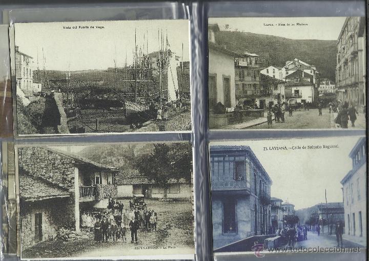 Postales: COLECCION DE 137 POSTALES DE ASTURIAS PUBLICADA POR LA NUEVA ESPAÑA VER FOTOS - Foto 22 - 48728976