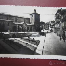 Postales: ASTURIAS: AVILÉS. CALLE JOSÉ ANTONIO PRIMO DE RIVERA E IGLESIA DE SAN NICOLÁS. ED. A. NUÑEZ, Nº4.. Lote 48947200