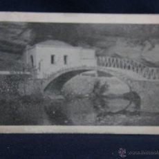 Postales: INFIESTO ASTURIAS SANTUARIO SEÑORA DE CUEVA POSTAL DIVIDIDA PUBLICIDAD FERRETERIA ALLENDE 98X158MM. Lote 49004975