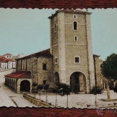Postales: FOTO POSTAL DE NOREÑA, ASTURIAS, N.3, IGLESIA PARROQUIAL, EXCLUSIVA LIBRERIA RICARDO MORCHON, NO CIR. Lote 49121804
