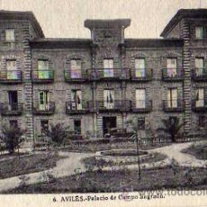 Postales: AVILÉS Nº 6 PALACIO DE CAMPO SAGRADO SIN CIRCULAR ROISÍN FOTÓGRAFO . Lote 49520922