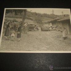 Postales: TEVERGA ASTURIAS SANTA MARIA DE VILLANUEVA FOTOGRAFIA. Lote 49667430