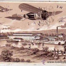 Postales: POSTAL PUBLICITARIA. SIDRA EL GAITERO. VALLE BALLINA. ARTES GRAFICAS GIJON. ASTURIAS. ESCRITA.. Lote 49736900