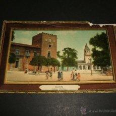 Postales: GIJON ASTURIAS CAMPO VALDES ED. BENIGNO FERNANDEZ PROGRAMA FIESTAS VERANO 1910 AL DORSO. Lote 50318346