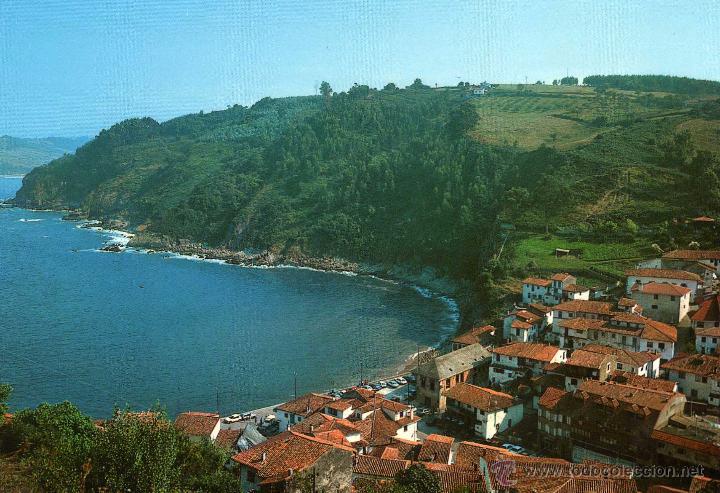 TAZONES (VILLAVICIOSA) - VISTA PARCIAL - NO ESCRITA NI CIRCULADA (Postales - España - Asturias Moderna (desde 1.940))
