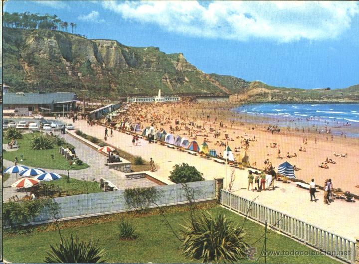 SALINAS - LA PLAYA (Postales - España - Asturias Moderna (desde 1.940))