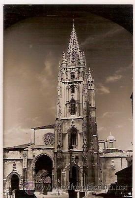 Antigua postal 12 oviedo catedral ediciones ala comprar - Puertas interior asturias ...