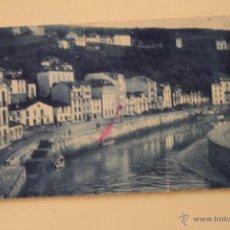 Postales: ANTIGUA POSTAL DE LUARCA, EL MUELLE ASTURIAS, 1930. Lote 50950370