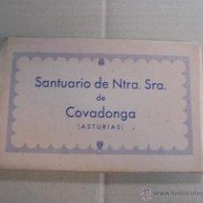 Postales: ACORDEON BLOC DE FUELLE CON 10 VISTAS SANTUARIO COVADONGA - A ESTRENAR !! . Lote 51146119