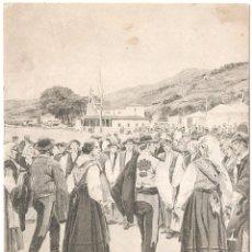Postales: ASTURIAS 1901 LA DANZA PRIMA. Lote 15720658