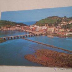 Postales: ANTIGUA POSTAL VISTA GENERAL RIBADESELLA.ASTURIAS.AÑOS 70.. Lote 51466208