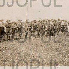 Postales: FORMACIÓN DE BOY SCOUT EXPLORADORES EN GIJÓN. ASTURIAS. FOTO FILM. ORIGINAL.. Lote 52157471